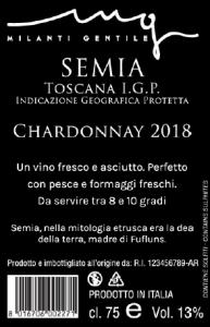 etichetta Milanti Semia artisti divini vinitaly 2019 2