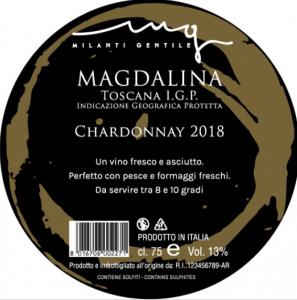 etichetta Milanti magdalina artisti divini vinitaly 2019 2